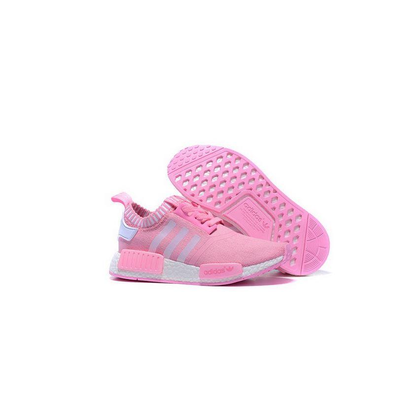 Adidas Originals NMD R1 Runner Primeknit Women Pink/White, Adidas ...