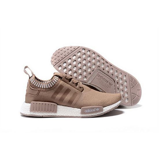 Adidas Originals NMD R1 Runner Primeknit Mens Khaki, Yeezy