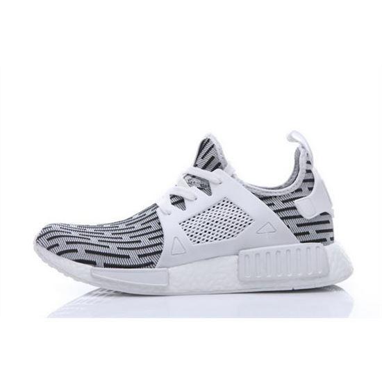 Adidas Originals NMD XR1 Runner Primeknit Mens White/Black, Yeezys ...